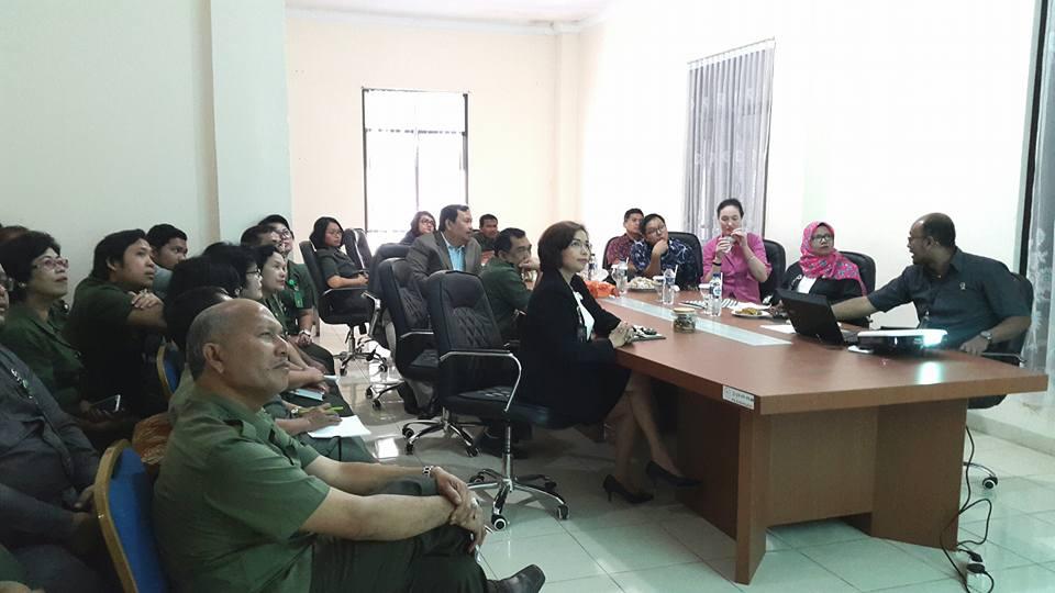 Kedatangan Perwakilan SUSTAIN UNDP untuk monitoring Pilot Project SPPT