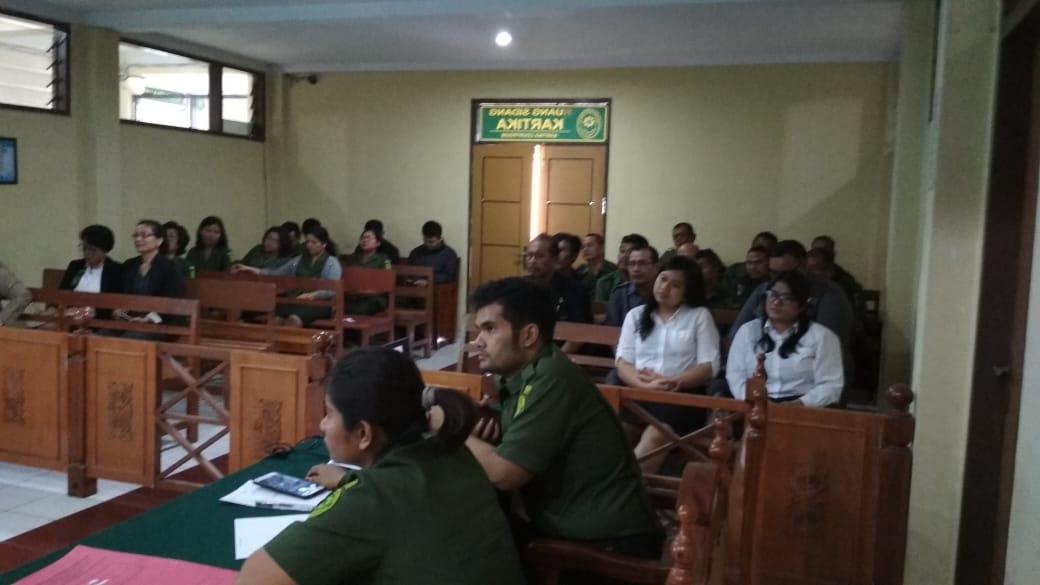 Rapat Bulanan Tinjauan Managemen Pengadilan Negeri Kabanjahe
