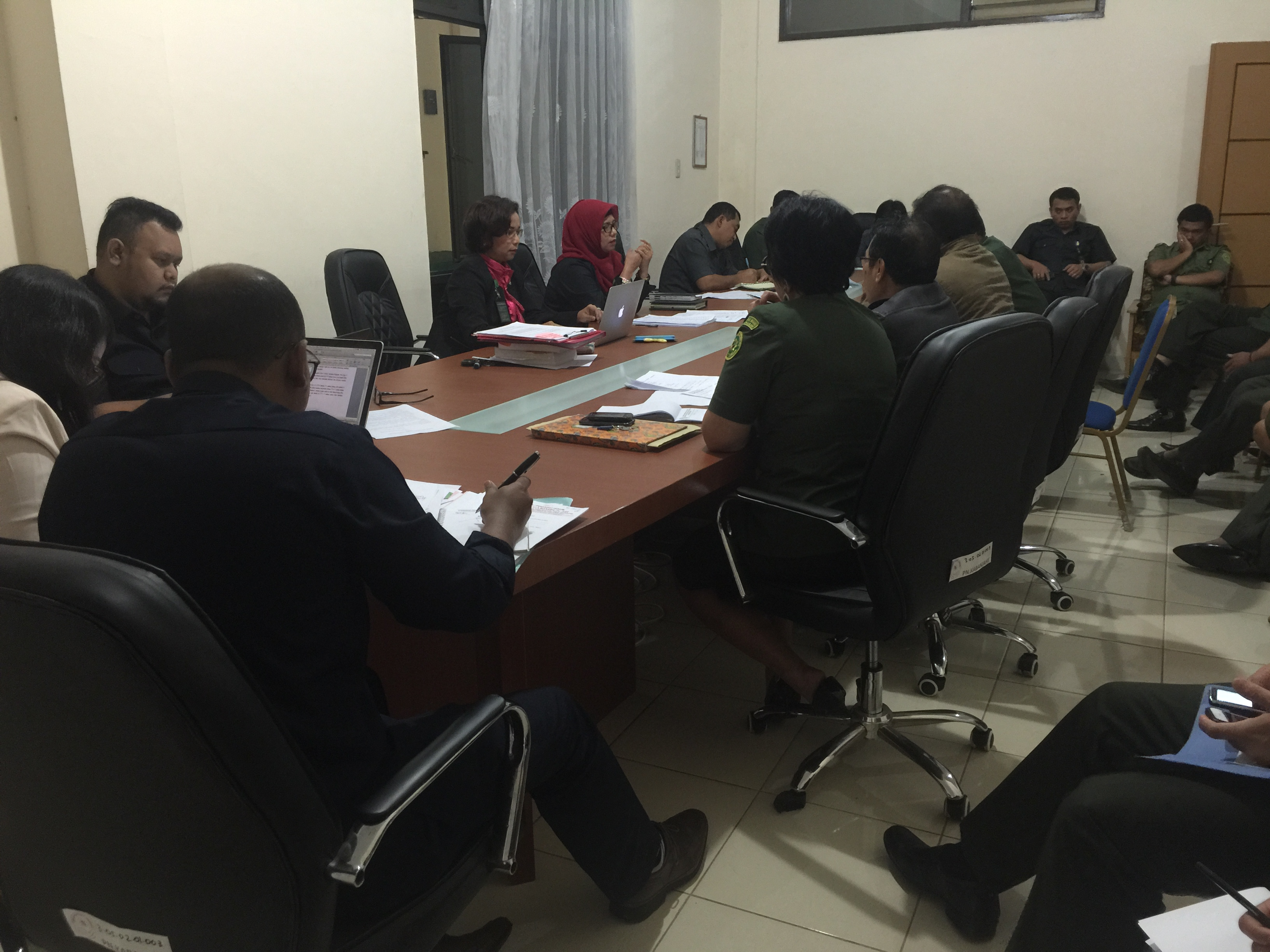 Rapat Bulan September  Pengadilan Negeri Kabanjahe Tahun 2016