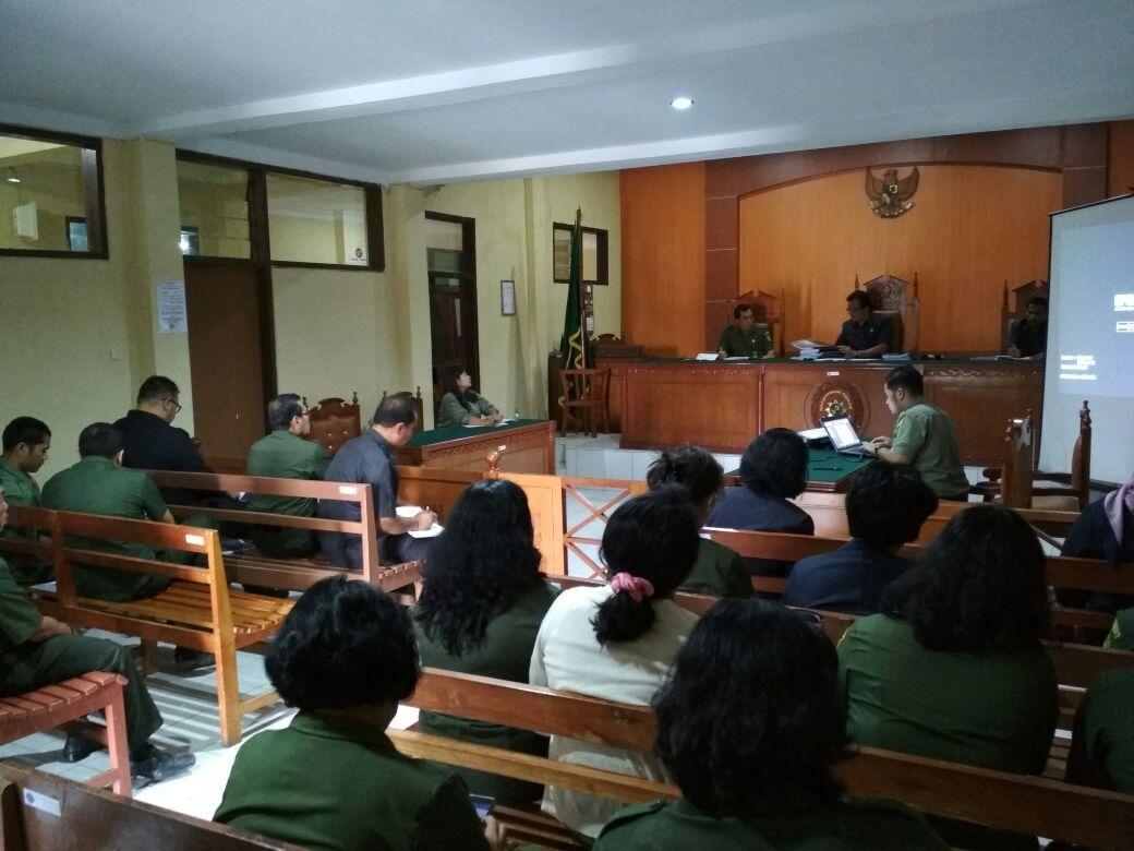 Pelaksanaan Rapat Evaluasi Penjaminan Mutu Pengadilan Negeri Kabanjahe (PMPN) Kabanjahe