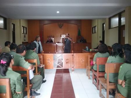 Kunjungan dari Tim Reformasi Birokrasi dari BPKP beserta Tim dari Badan Pengawasan Mahkamah Agung RI
