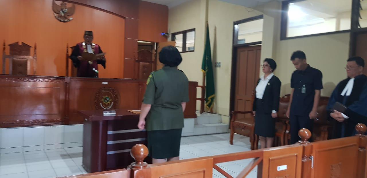 Pelantikan Sdri. Conny Romora Sinaga sebagai Pranata Komputer di Lingkungan Pengadilan Negeri Kabanjahe