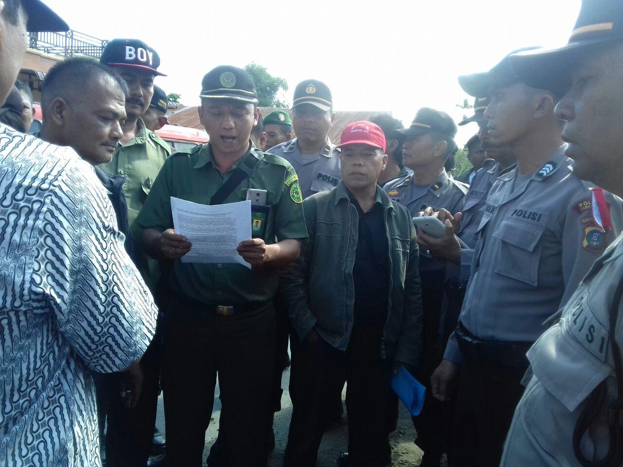 Pnegadilan Negeri Kabanjahe Eksekusi Objek di Desa Tigapanah