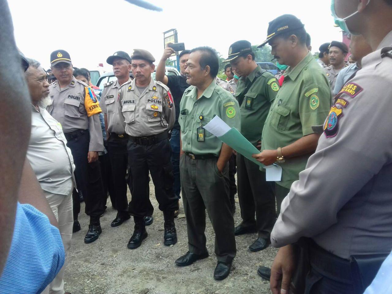 Pengadilan Negeri Kabanjahe Eksekusi Objek di Desa Kandibata