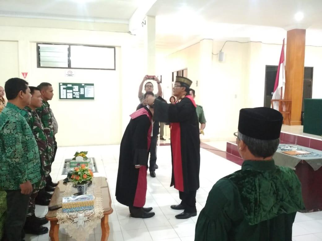 Pelantikan Bapak Sulhanuddin,SH,MH sebagai Wakil Ketua Pengadilan Negeri Kabanjahe