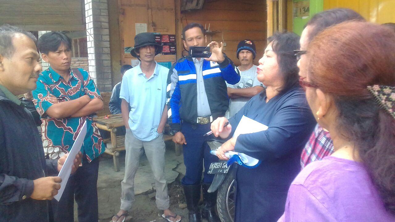 Pengadilan Negeri Kabanjahe Eksekusi Objek di Kecamatan Kabanjahe