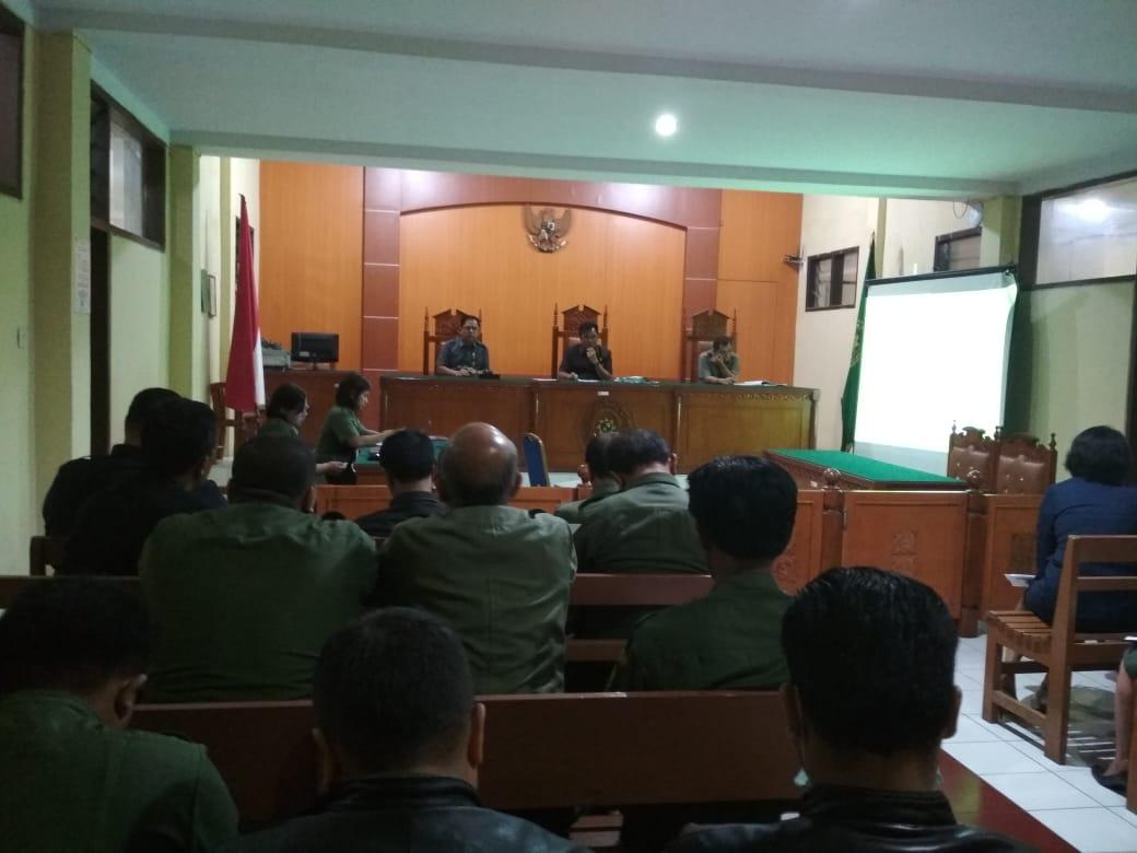 Rapat Bulanan Tinjauan Managemen Pengadilan Pengadilan Negeri  Kabanjahe