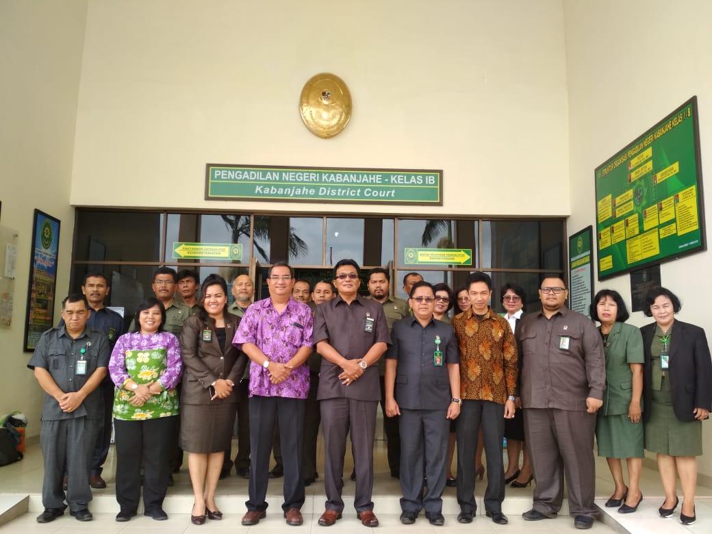 Monitoring Evaluasi Panitera Pengganti dan Jurusita,Jurusita Pengganti oleh SUSTAIN di Pengadilan Negeri Kabanjahe